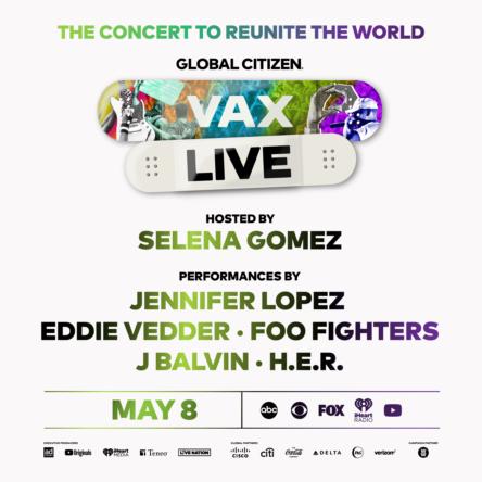 Global Citizen – VAX LIVE