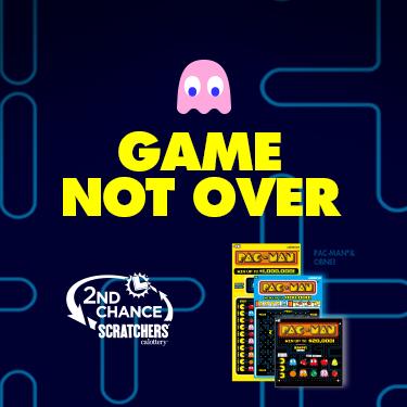 CA Lottery Scratchers Pacman