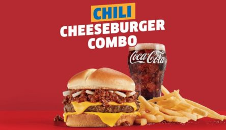 Jack in the Box Chili Cheeseburger